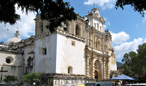 The San Francisco Church in Antigua.
