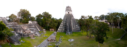 Panorama from Temple III.