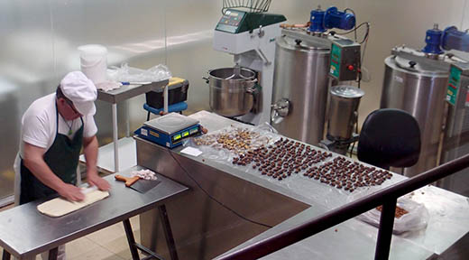 Havanna Chocolate Factory in Bariloche