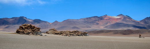 Mountains in southwestern Bolivia.