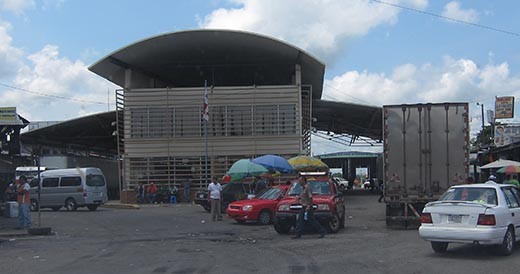 Panama immigration and customs building
