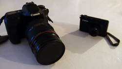 Canon and SLR cameras