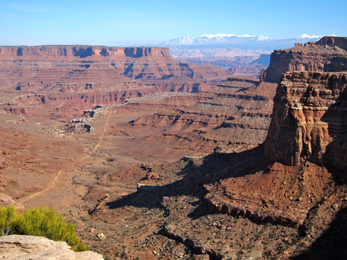 Another view of the Canyonlands.