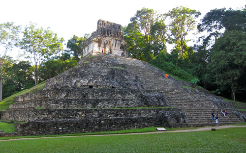 The ruins of Palenque.
