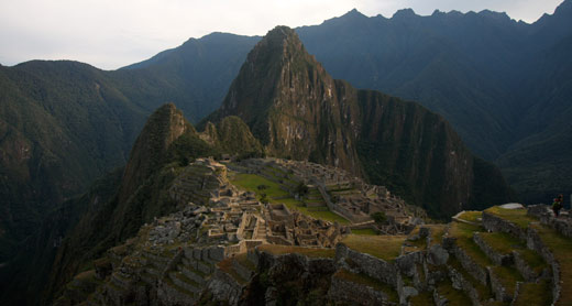Machu Picchu in all its glory.