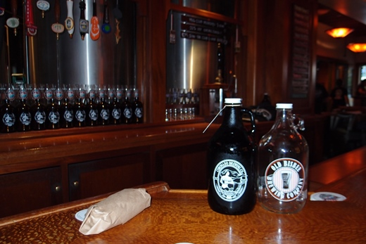 Exchanging growlers