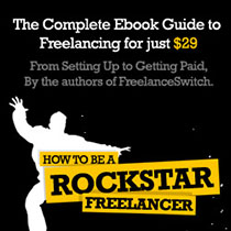 How to be a rockstar freelancer ebook