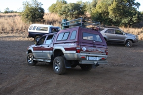 Choosing an overland vehicle