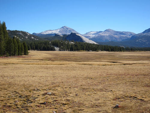Tuolumne meadows outside of Yosemite National Park.